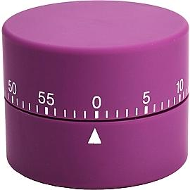 ROUND TIMER LILA